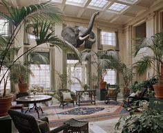 13 Things I Found on the Internet Today (Vol. CCXXV) - The Conservatory inside the home of George Eastman, founder of the Kodak Company