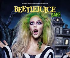 Beetlejuice Babe - SFX Makeup Tutorial