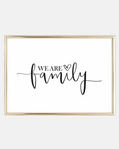 We are family Poster favourites Scandinavian Wall&; We are family Poster favourites Scandinavian Wall&; Sanat Will We are family Poster favourites Scandinavian Wall Art Poster Shop, Poster Wall, Cadre Diy, Empathy Quotes, Family Poster, Calligraphy Quotes, We Are Family, Word Families, Statements