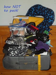 how NOT to pack