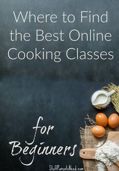 Cooking Classes for Beginners: What I Tried (and Want to Try!) Here's where I have had success with online cooking classes for beginners. The prices are reasonable (and they even have several courses that are totally FREE!Success Success may refer to: Online Cooking Classes, Culinary Classes, Baking Classes, Cooking Courses, Cooking Classes For Kids, Cooking School, Cooking With Kids, Cooking Chef, Fun Cooking