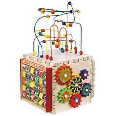 Have to have it. Anatex Deluxe Mini Cube Activity Center $90.98