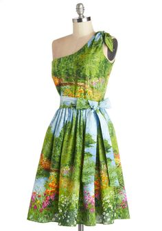 Bernie Dexter Prettiest of All the Landscape Dress