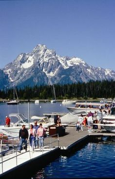 Take a Jackson Lake boat cruise out of the Colter Bay Village Marina