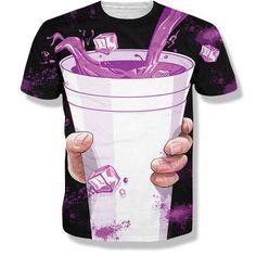 lean shirt Sizzurp shirt dirty sprite shirt texas shirt purple drank shirt