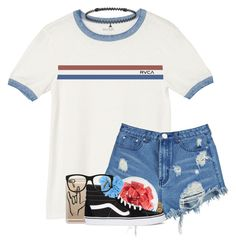 """Rtd"" by southernstruttin ❤ liked on Polyvore featuring RVCA, Boohoo, FRUIT, Casetify, Vans, Liberty, BERRICLE and Ralph Lauren"