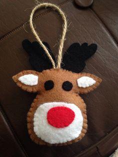 Felt Reindeer Christmas craft