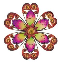 Regal Art & Gift Flower Wall Decor, Purple, 9-Inch  Decorating your backyard or garden is easy, fun, and cute when you use metal outdoor wall art.  You can incorporate sun, gecko, moon , flower and all kinds of other metal wall decor that is perfect for your garden outdoor space.  This metal wall art is the epitome of style and an great start when it comes to outdoor decorating ideas.