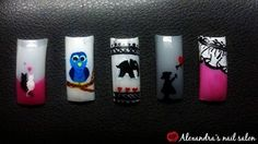 Handpainted nail art