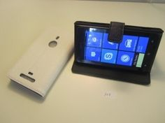 Lumia 925 taittuva nahkakotelo Electronics, Consumer Electronics