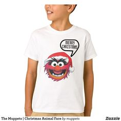 Customizable T-Shirt made by Zazzle Apparel. Muppets Christmas, Christmas Animals, Animal Muppet, Animal Faces, Closet Staples, Create Your Own, Fitness Models, Shop Now, Casual