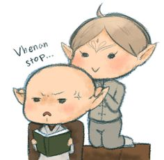 "beginnerfanartist: "" serenemilra: "" First thing I'm gonna do if I'm Lavellan "" OMFGG THIS IS THE CUTEST THING EVEEEEERRR!!! YESSS YESSS 1000xYESSS """