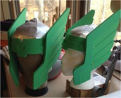 craft foam thor helmet  !