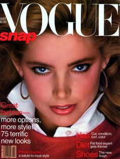 Kelly LeBrock on vogue cover | Top Models of the World.com