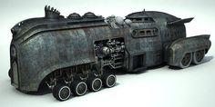 WIP Steamcar