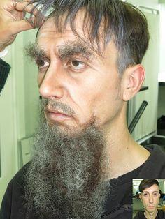 Clase de demostración realizada por Menchu Benitez, el crepe es de #makeupforever #Teatro #Theater