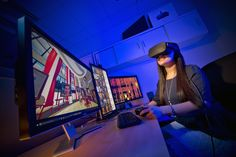 A new study from the University of Maryland found that people recall information better when it is presented to them in a virtual environment, as opposed to a desktop computer. Augmented Reality, Virtual Reality, Data Center Design, Study Apps, Computer Humor, Education And Development, Working Memory, University Of Maryland, Show Me The Money