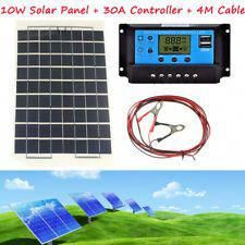 30a Lcd 12v 24v Auto Charger Controller 4m Cable Clip 10w Energy Solar Panel Solarpanels Solarenergy Solarpo In 2020 Solar Panels Solar Energy Solar Energy Panels