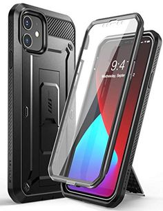 #Supcase #iPhone12Mini Belt Clip Case With Built-in #ScreenProtector