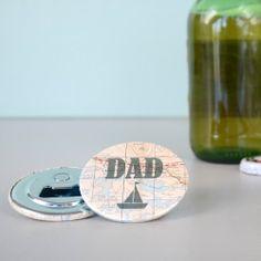'Dad' Magnetic Bottle Opener