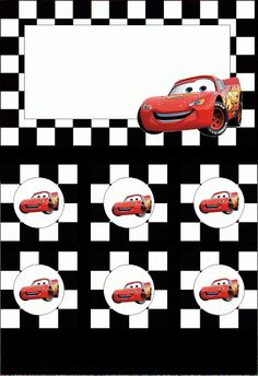 Yvonne Byatt's Family Fun: Disney Cars Party Printables