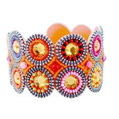 Bright Multi Cirque Beaded Bracelet at the Foundary