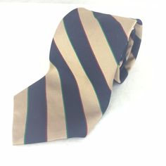 "Bert Pulitzer Dillards Collectors Edition All Silk 3.5"" Wide 58"" Long Classic #BertPulitzer #Tie"