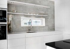 Betonglikt, industriellt. Låt Nr 21 ge ditt kök den perfekta blandningen av modernt och lagom nött.