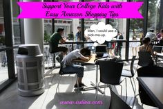 Support Your College Kids with Easy #Amazon Shopping Tips