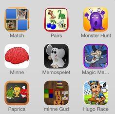Appar för minnesträning och koncentration | Ipad i skolan & förskolan | Scoop.it