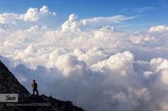 Clouds under the Summit by BradHammonds  6D Asia Canon Clouds EOS Fuji Fujisan Hike Hiking Japan Mount Fuji Mountain Mt Fuji Sky Sunset trave