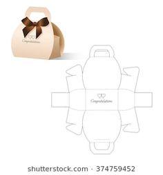 Retail Box with Blueprint Template art portfolio Bilder, Stockfotos und Vektorgrafiken Box Template Diy Gift Box, Paper Gift Box, Diy Box, Paper Gifts, Diy Gifts, Gift Boxes, Paper Toys, Creative Box, Creative Gift Wrapping
