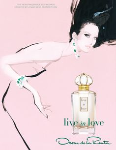 live in love ad by David Downton.