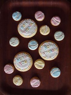Bon voyage cookies