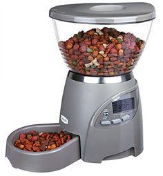 Futterautomat Le Bistro grau - http://www.futterautomat-katzen.de/produkt/futterautomat-le-bistro-grau/