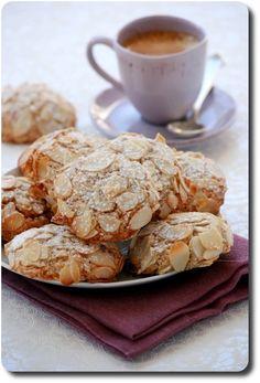 Biscuits tendres aux amandes parfumés à la bergamote