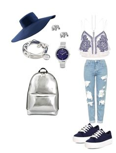 """""""Sin título #23"""" by amtorres08 on Polyvore featuring moda, River Island, Topshop, New Look, Nine West, Lizzy James, AirField y 3.1 Phillip Lim"""