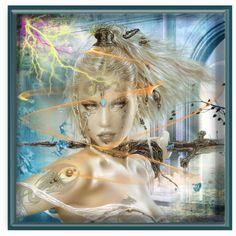 """The Swordswoman"" by village-poet"