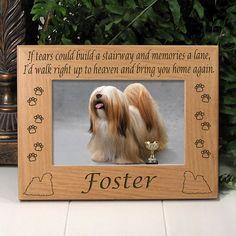 Lhasa Opso Memorial Dog Frame