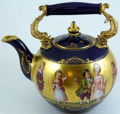 Porcelain And China Marks Teapots And Cups, Tea Art, Tea Caddy, Tea Service, Chocolate Pots, Objet D'art, Porcelain Ceramics, China Porcelain, Tea Time
