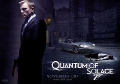 Quantum of Solace James Bond Books, James Bond Cars, Aston Martin Dbs, Skyfall, Casino Royale, Daniel Craig, Celebrities, Movies, Vodka Martini
