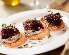 Toast de foie gras au confit d'oignon rouge