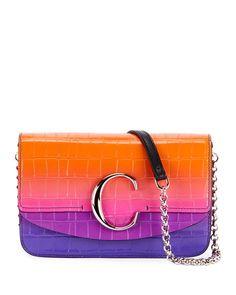 33203522972a Chloe Chloe C Small Ombré Clutch Bag