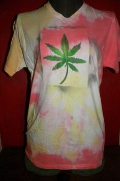 Hippie 420 Union Cannabis Marijuana Leaf Reefer Pot by KillWalmart, $15.00