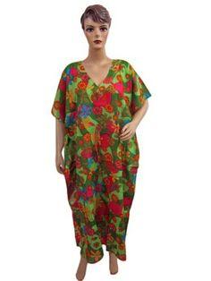 Womens Kaftan, Lounge Wear Red Green Lightweight Cotton Caftan Casual Beach Wear Boho Kaftan Mogulinterior, http://www.amazon.com/gp/product/B008G96V3M/ref=cm_sw_r_pi_alp_8J-vqb1N7G7C5