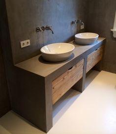 badkamermeubel beton - Google zoeken