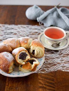 Pradobroty: Honzovy buchty Pretzel Bites, Sweet Tooth, Recipes, Basket, Cooking Food, Bread, Cakes, Challah, Rezepte