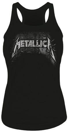 #Débardeur Nana METALLICA - Corrosive #metallica www.rockagogo.com