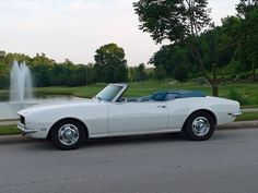 1968 Camaro Convertible   great times and memories in this car - can't wait to drive it again!!!