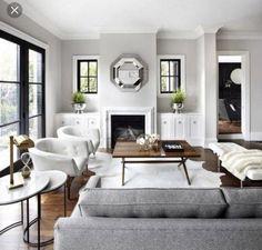 Gray living room #livingroom #gray